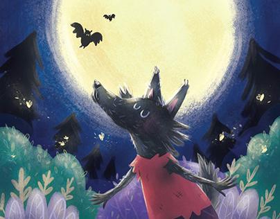 Werewolf loves full moon