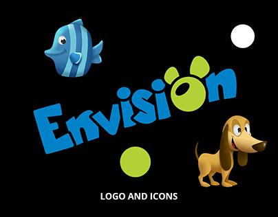 Envision - logo and icon design