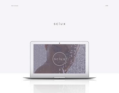 sclux — web concept