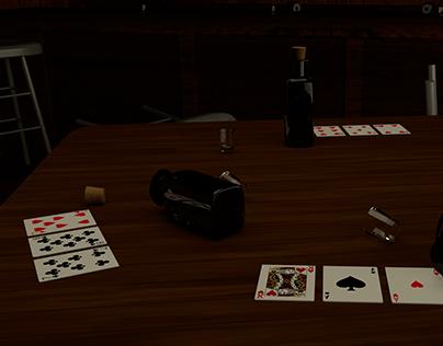 3D Saloon