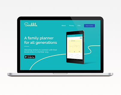 Scribble Product Website