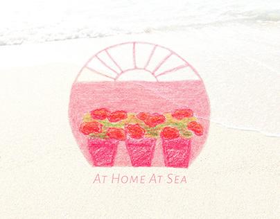 At Home At Sea - Surface print