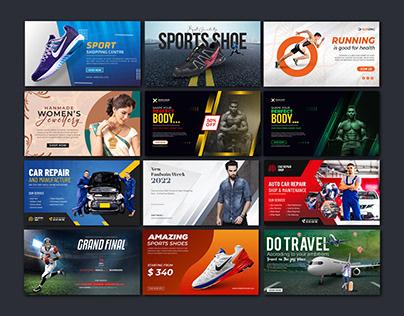 Modern Web Banner Templates | Creative Banner Design