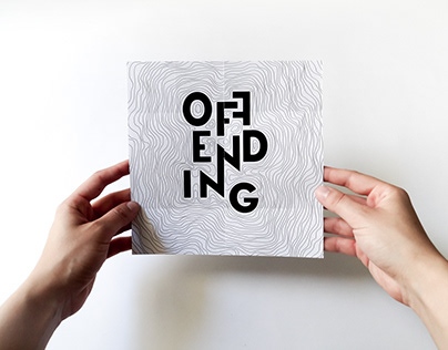 'Offending the Audience' Visual Identity
