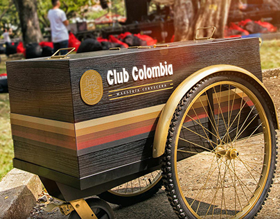 Club Colombia coolers