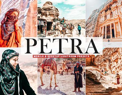 Free Petra Mobile & Desktop Lightroom Presets Cover