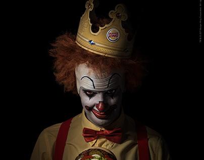 Burger King / #ScaryClownNight / Digital