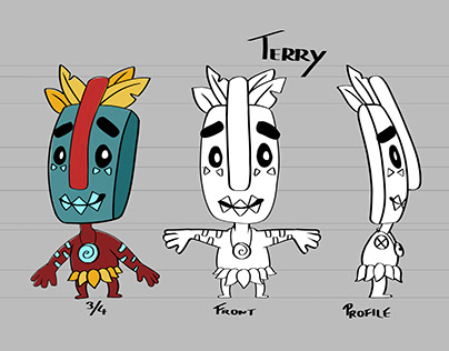 Terry - Character design