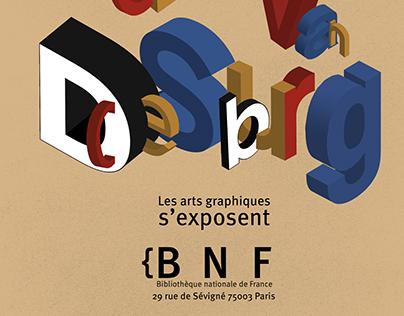 Affiche typographique