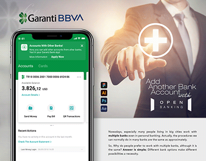 Add Another Bank Account to Garanti Bank Mobile App
