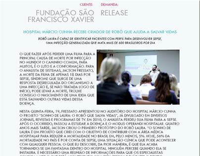 Release Sonho de Laura