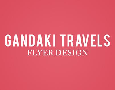 Gandaki Travels - Graphic Design