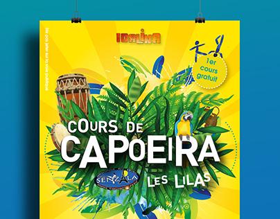 Flyers Capoeira, association idalina