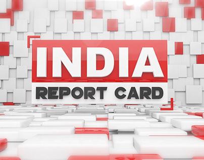 INDIA REPORT CARD