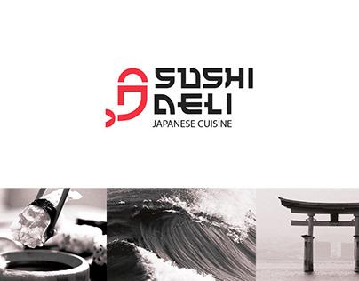Logo designed for a japanese restaurant