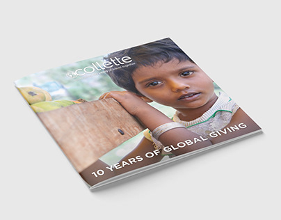 Philanthropic Travel Anniversary Brochure