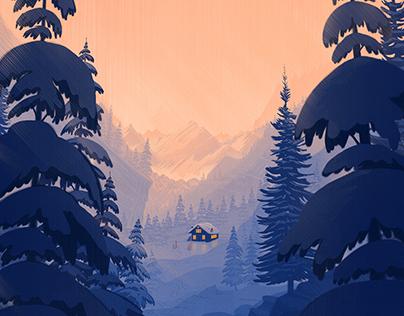 Boston Globe special ski section Cover