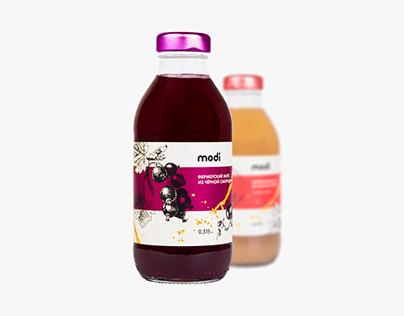 Упаковка сока и морса MODI