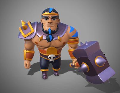 Aztec Warrior 3D Dec 2017