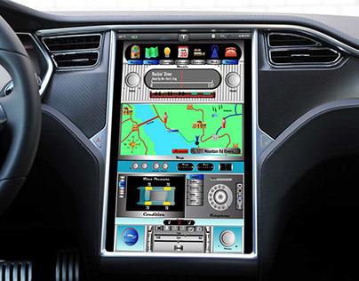 Custom Tesla Dashboard