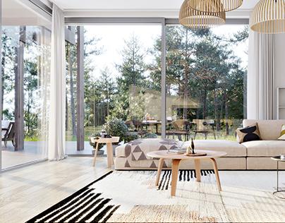 Saaremaa Resort-Interior Design CGI