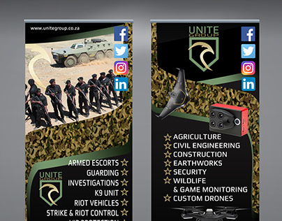 Unite Group - Pull Up Banner