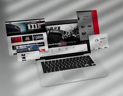 Webdesign - eventsector