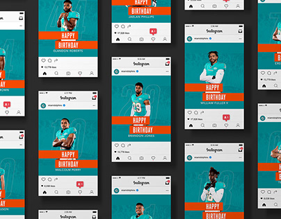 Miami Dolphins: Social and Partnerships