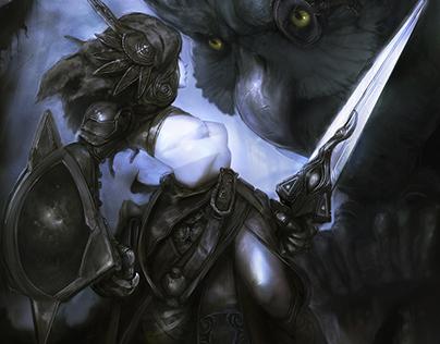 Hello Raven Owl!