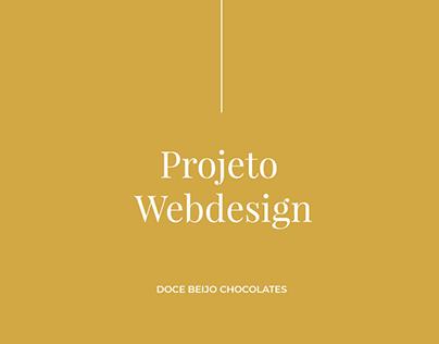 Webdesign | Doce Beijo Chocolates