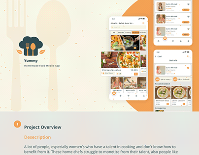 Homemade Food App