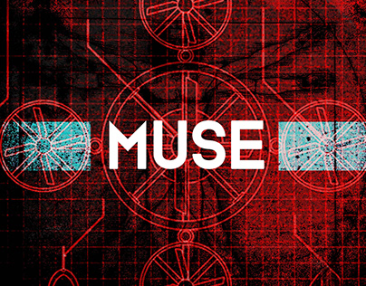 Poster for a Muse gig