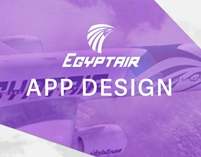 Ux Ui Design- Egypt Air Application design/Social Media
