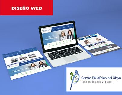 DISEÑO LANDING PAGE: Centro Policlínico del Olaya