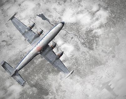 L. 1049 G Super Constellation - Lufthansa