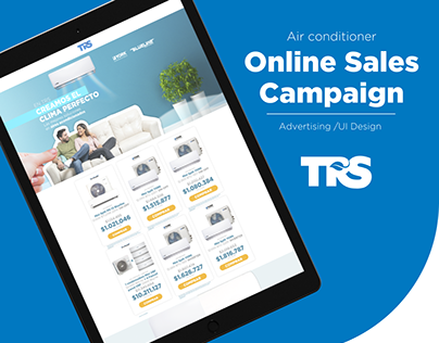 TRS Campaign & Landing Page / UI Design and Advertising
