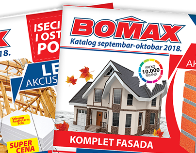 Bomax design and prepress for print