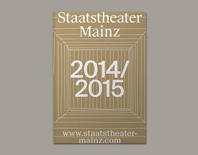 Staatstheater Mainz – Spielzeitheft 2014/15