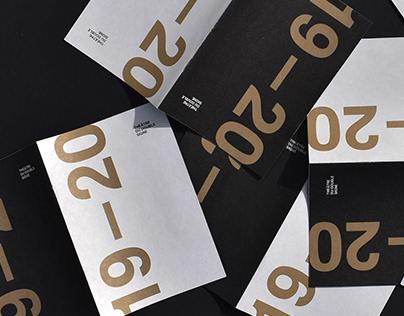 Théâtre du Double signe- Brochure 2019-2020