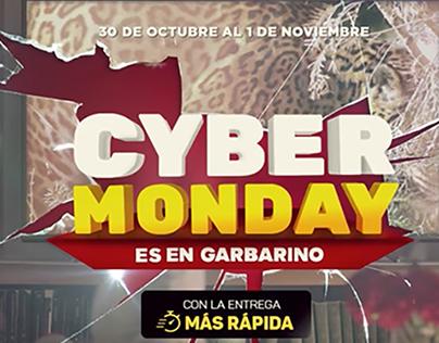 Campaña publicitaria | Cyber Monday es de Garbarino
