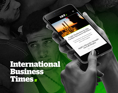 International Business Times - Brand and Product Design