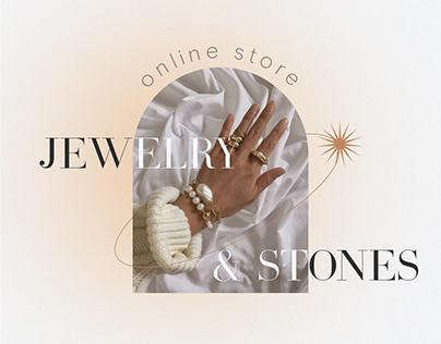 """Online store """"Jewelry & Stones"""""""