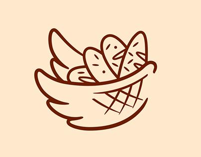Wings- Logo Bread