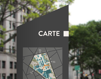 Les Olympiades Wayfinding System