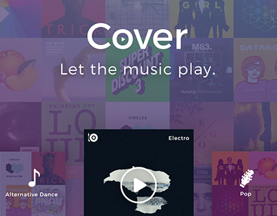 Cover   Music & Radio Concept