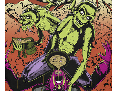 PDXtreme Film Fest promotional art
