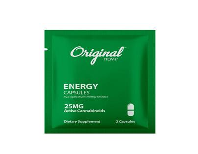 Buy Original Hemp Daily Dose 25MG CBD Capsules