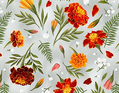 Marigolds pattern