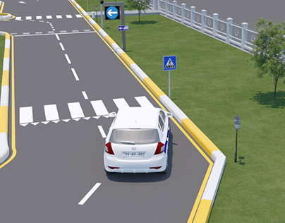 3D explainer video for Chief State Traffic Police