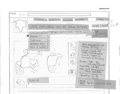 MotorK: Full-stack design process - Sketches